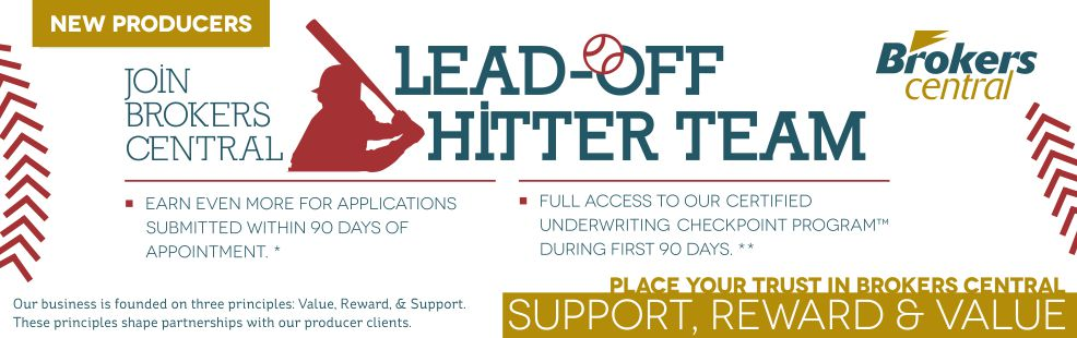 Join the Lead Off Hitter Team